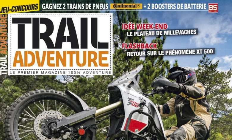 Photo of Trail Adventure N°22 en kiosque !