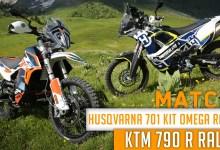 Photo of Match : HUSQVARNA 701 Kit Omega Rally vs KTM 790 R Rally