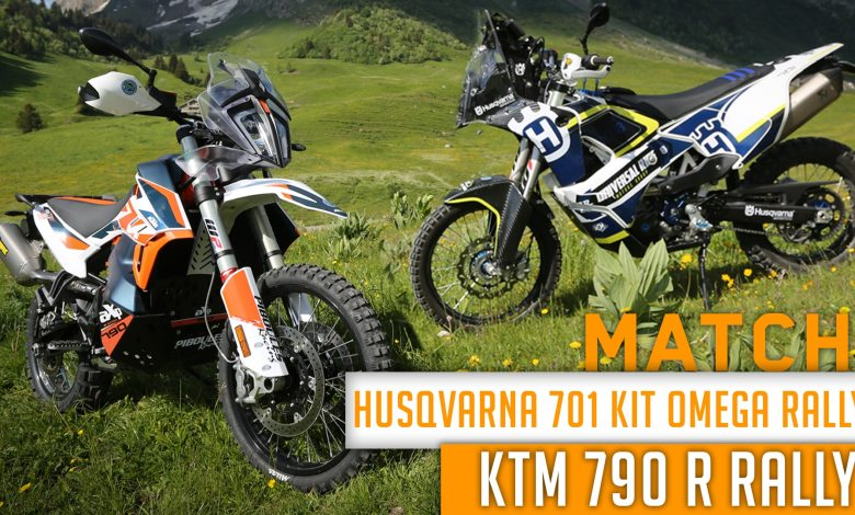 Photo of Match : HUSQVARNA 701 Kit Omega Rally vs KTM 790 R Rally