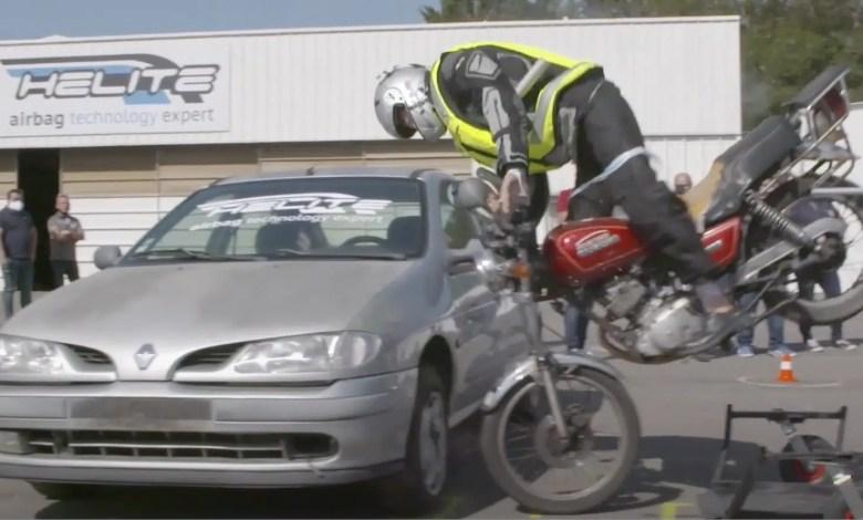 Crash test airbag vidéo
