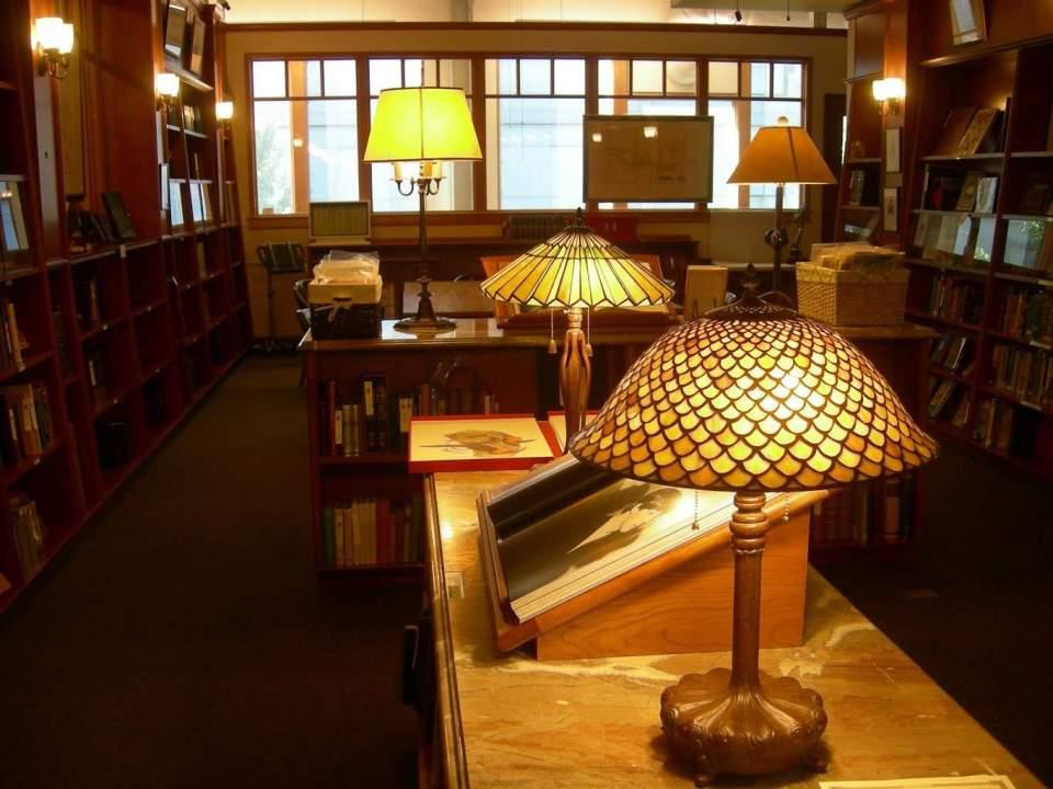 Powell's Rare book Room