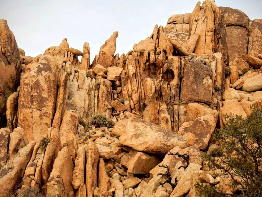 Monzogranite Boulders
