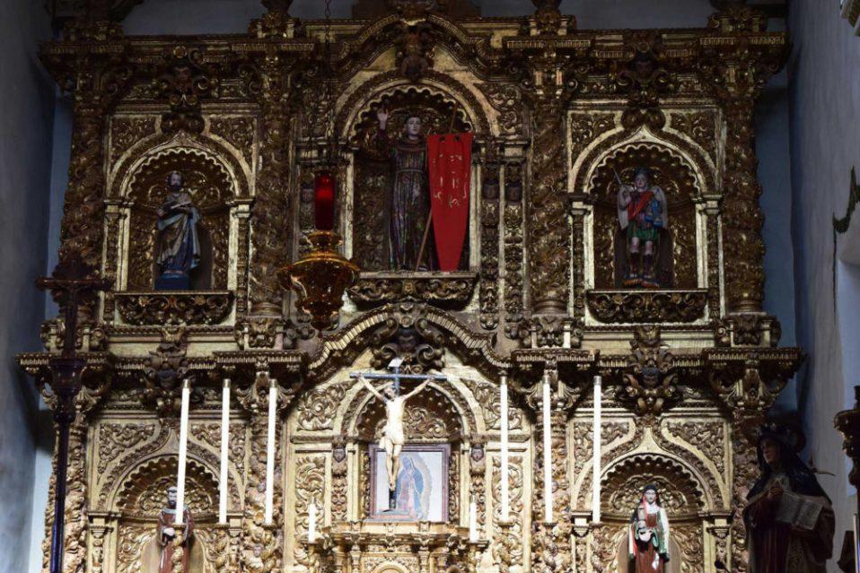 The Altar of the Serra Chapel