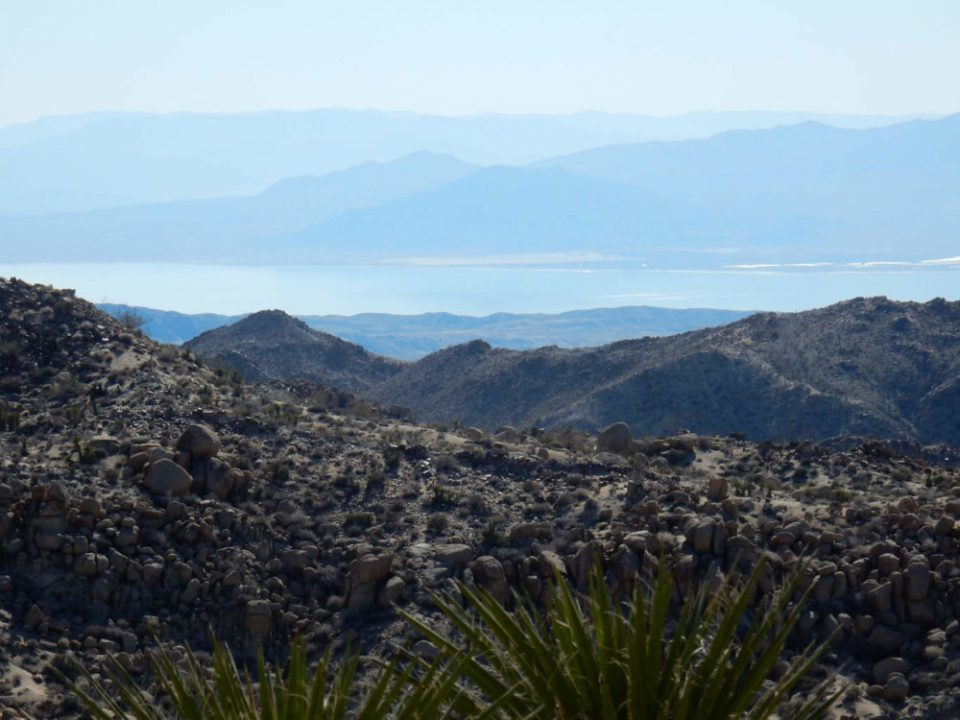 Salton Sea from Peak