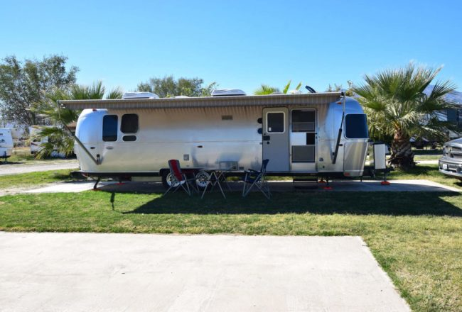 Oasis Palms RV Park In Thermal CA
