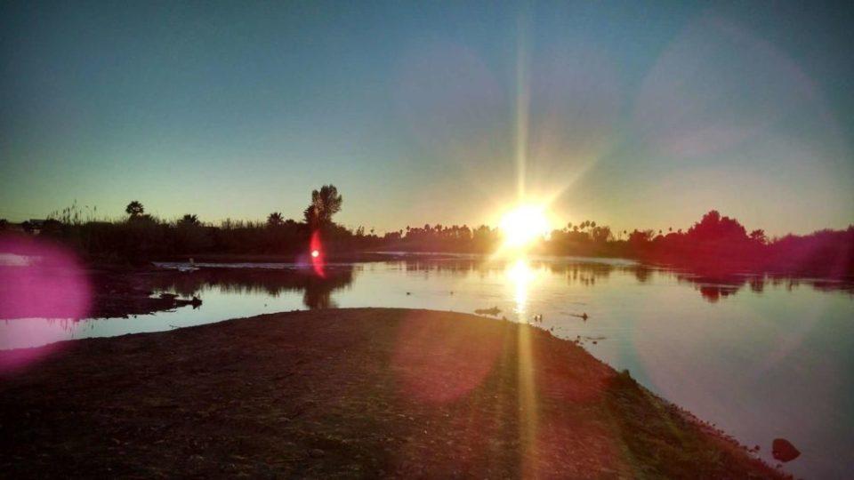 Colorado River at Sunset