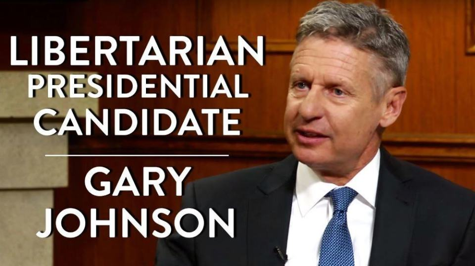 Guess I was wrong, here is the Libertarian, I like the guy on the left here too.