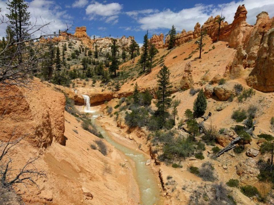 Tropic Ditch, Waterfall and Hoodoos