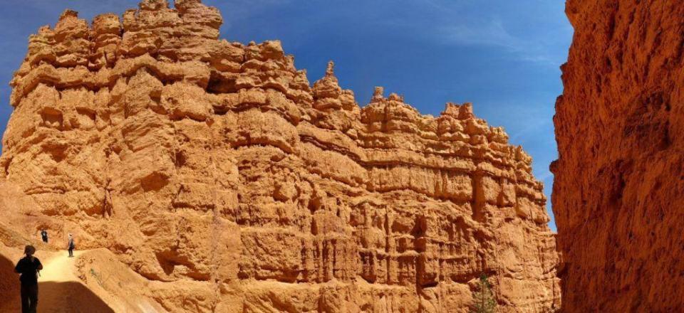 Navajo Trail Limestone Wall