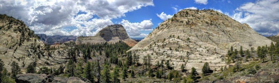 Panorama of Northgate Peaks, Zion National Park