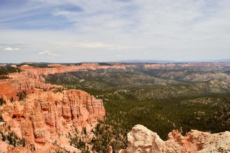 View of Bryce Canyon from Rainbow Point