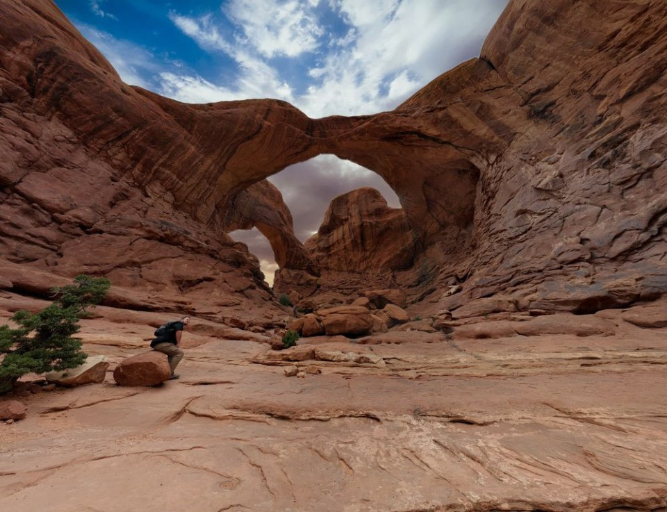 Beneath the Double Arch