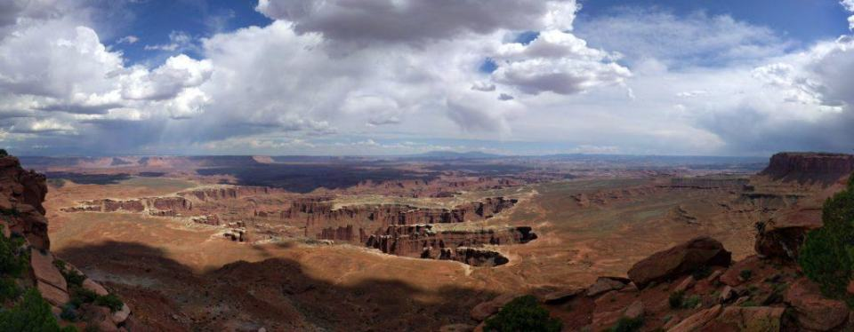 Monument Basin. Man what a view!