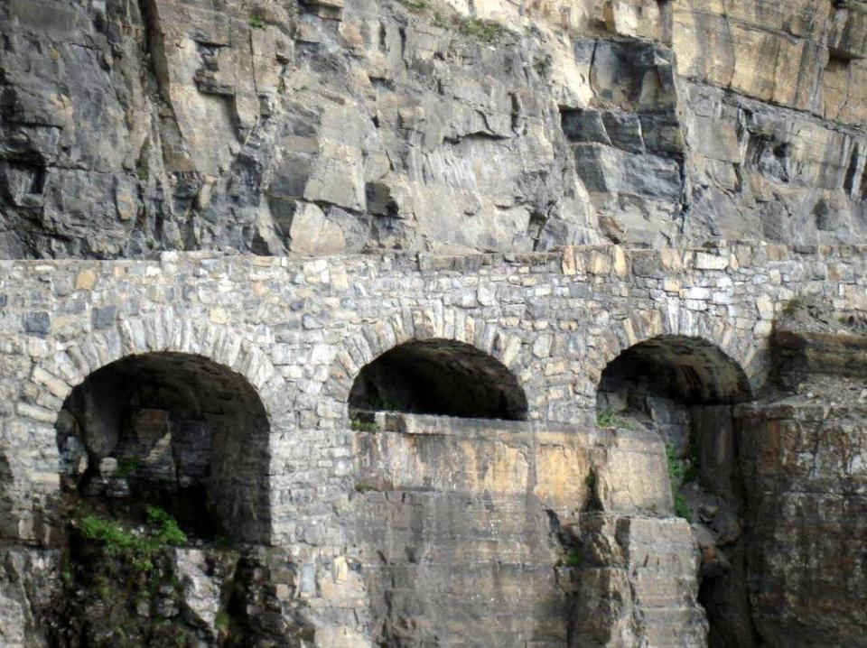 Triple Arches is an elegant solution to an early engineering problem.