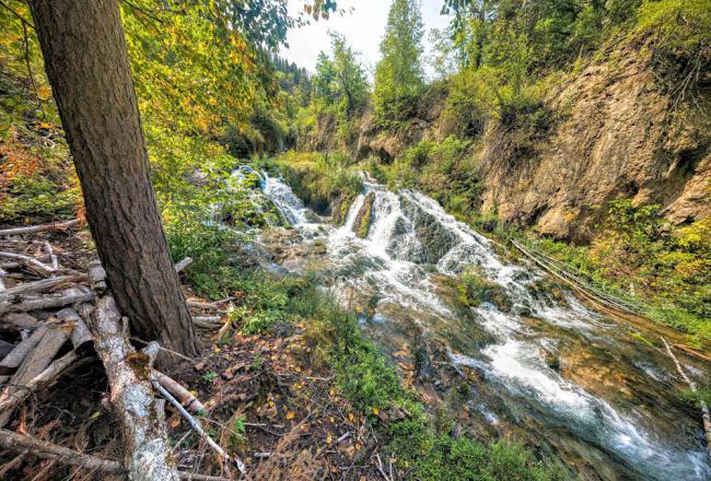 Base of Roughlock Falls