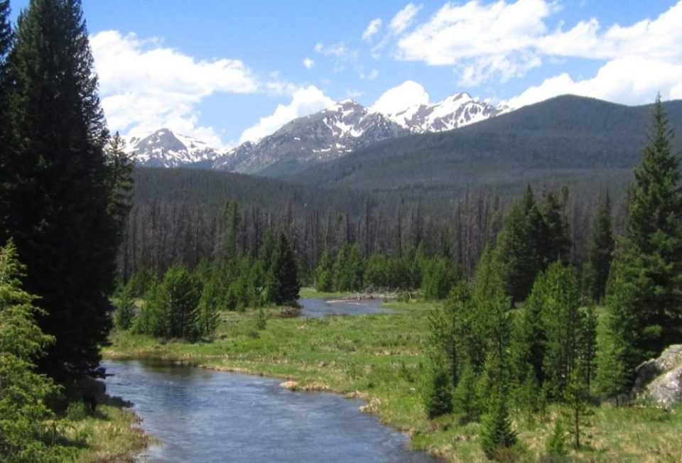 Colorado River Trail in West Rocky Mountain National Park