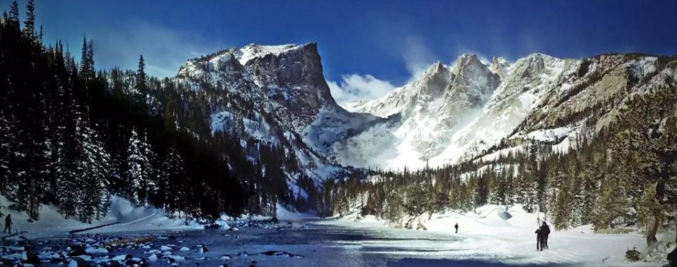 Dream Lake in Winter - Try Winter for some Spectacular Views