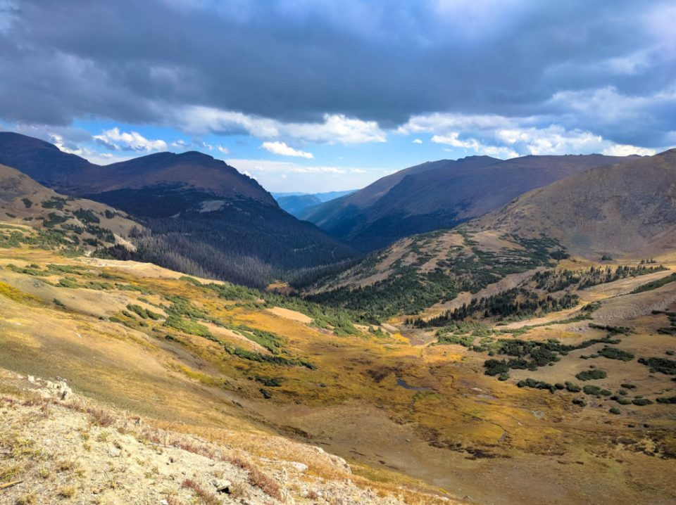 View from Alpine Visitor Center