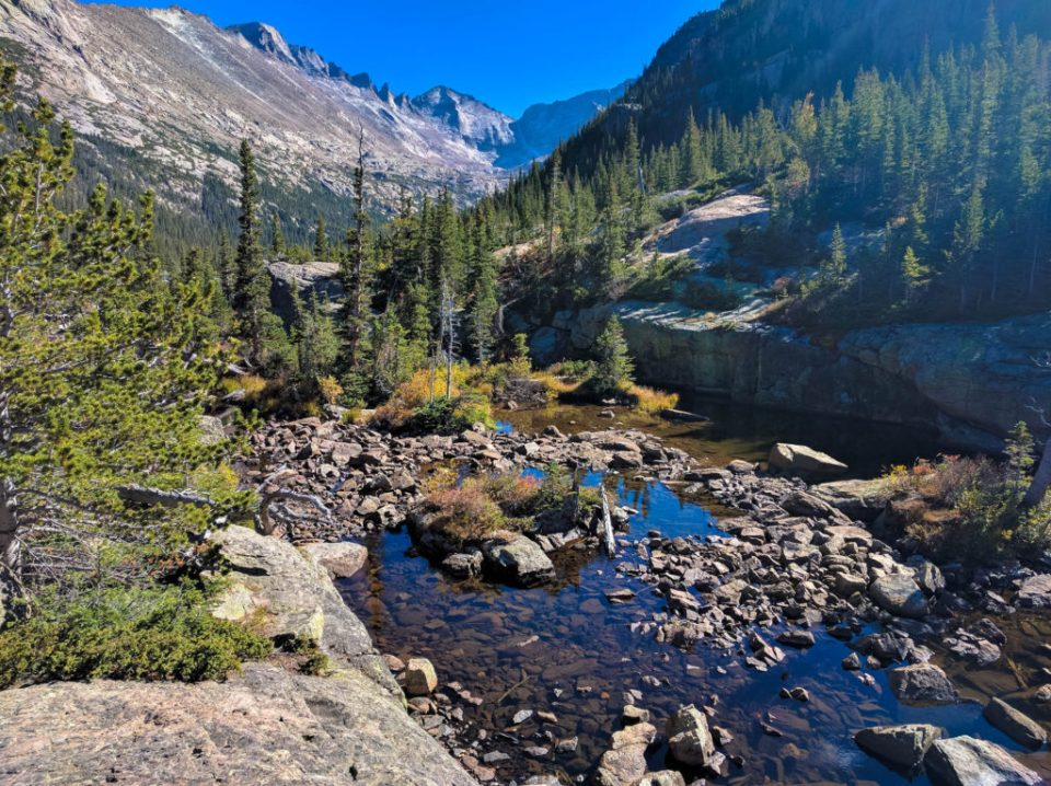 Glacier Creek near Mills Lake