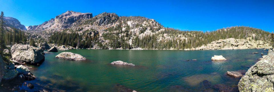 Lake Haiyaha - Rocks. Lots of Rocks