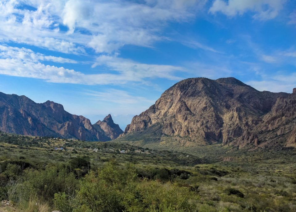 Chisos Basin from Panther Pass