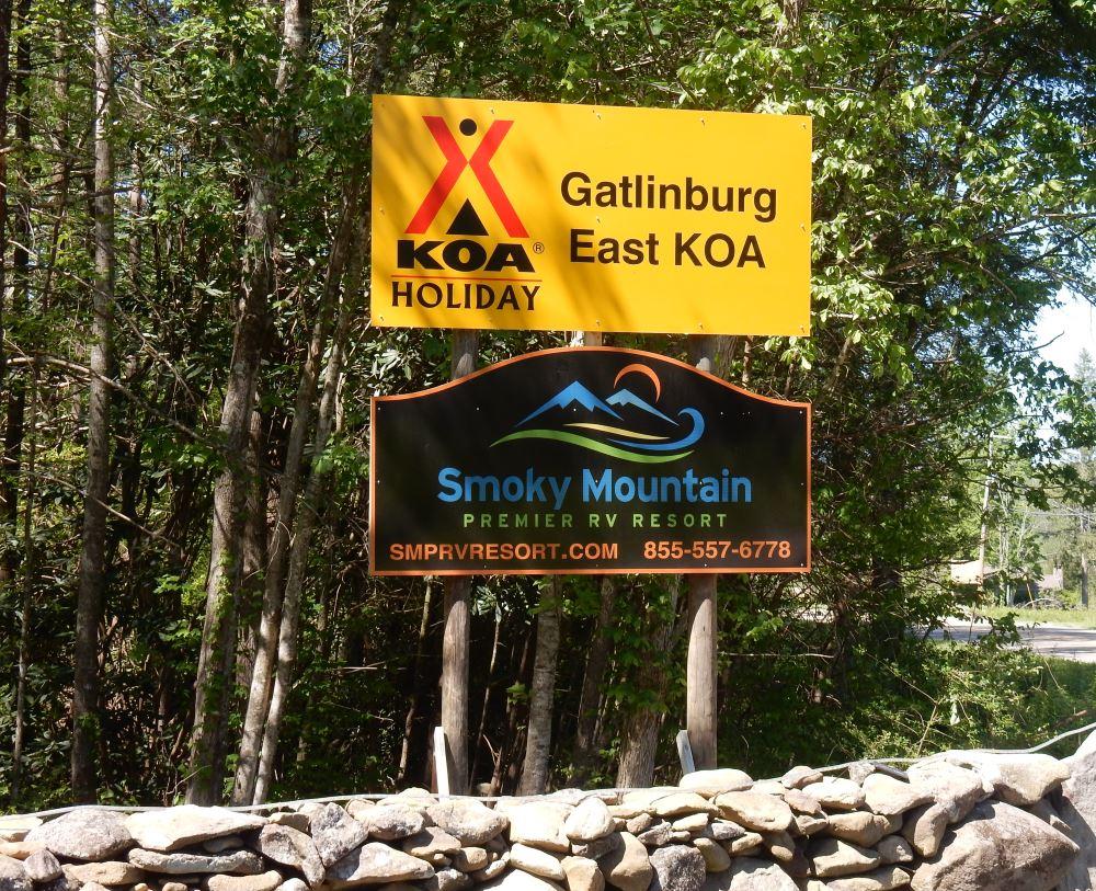 gatlinburg east / smoky mountain koa: cosby, tn - the adventures of
