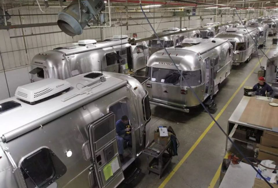 Airstream Factory Line