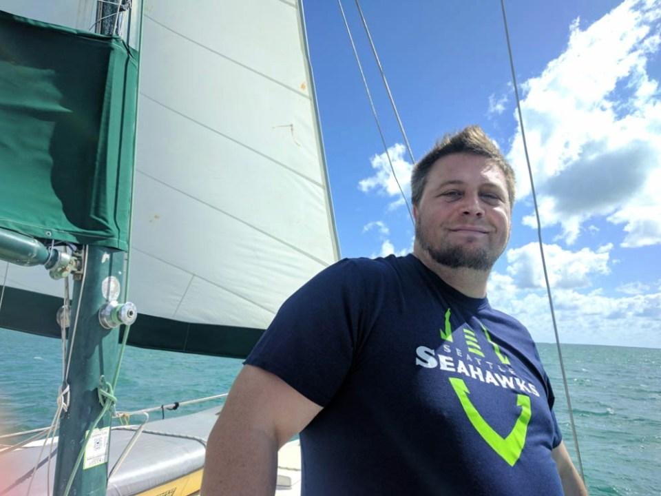 Sig likes sailing!
