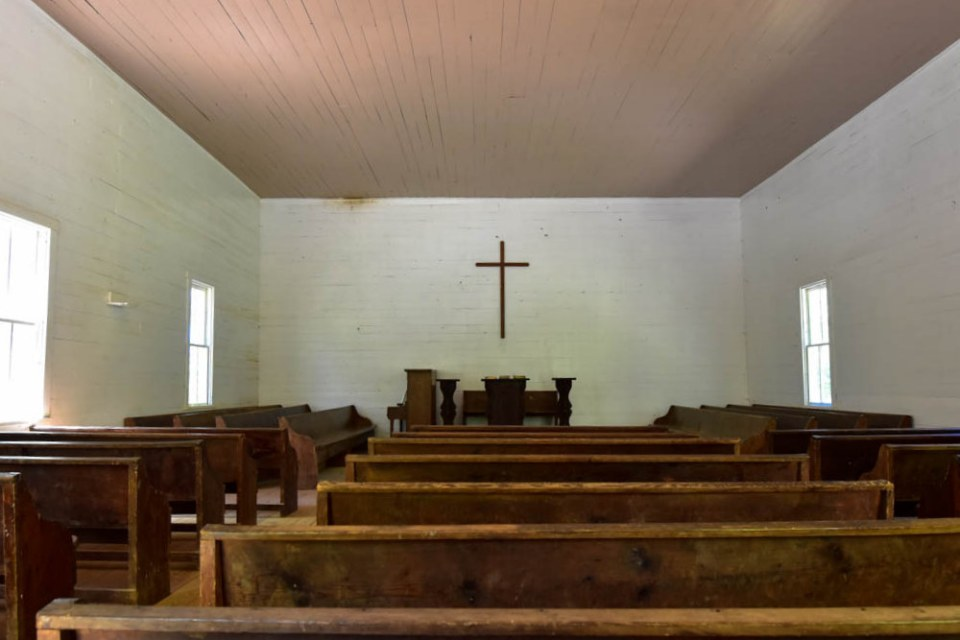 Inside Missionary Baptist Church