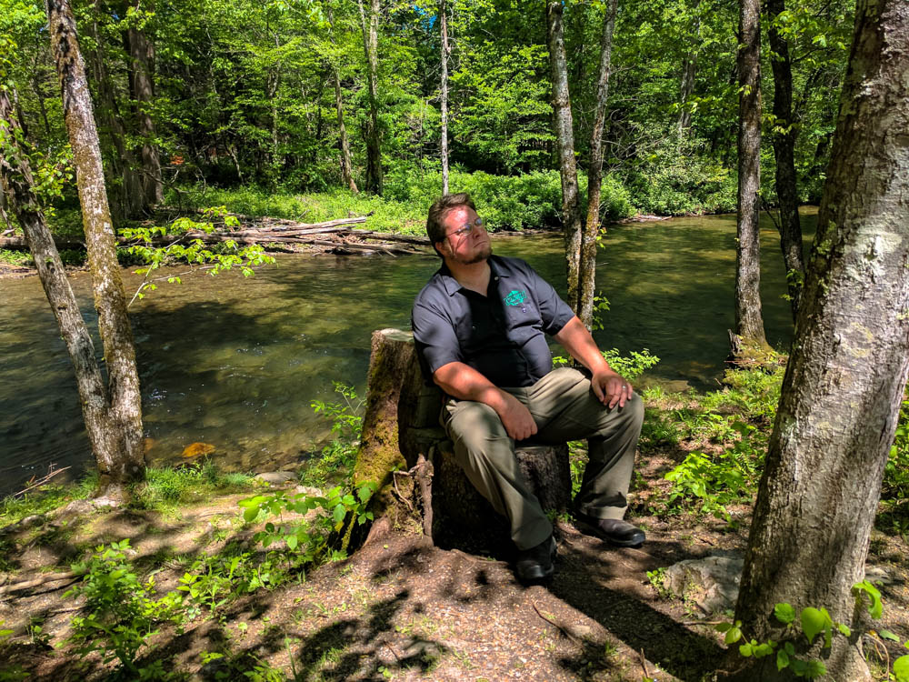 Hitch takes it easy on Oconaluftee River Trail