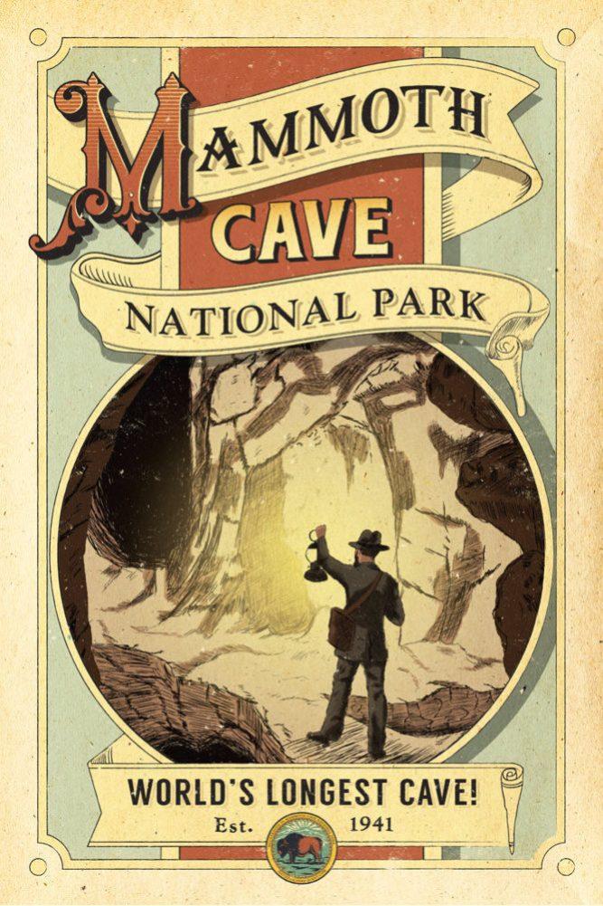 Mammoth Cave 1941 Postcard