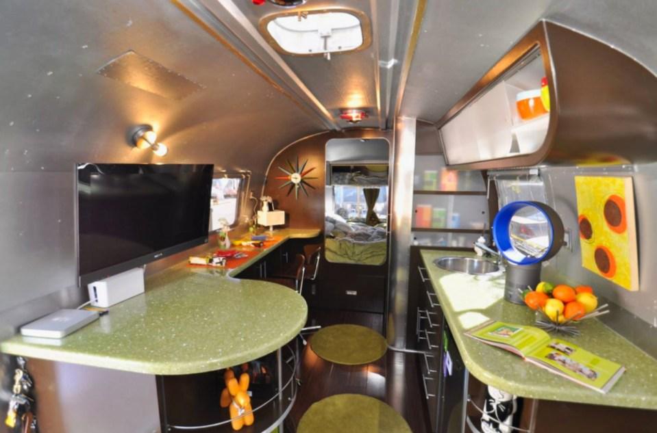 Retro Inside Airstream