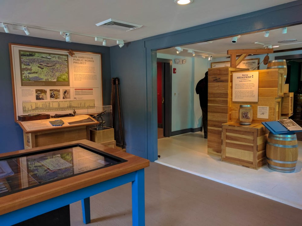 Inside Brecksville Nature Center