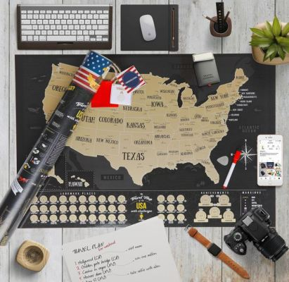 USA Scratch Off Map