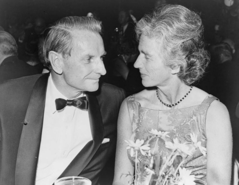 Laurance Rockefeller and wife Mary