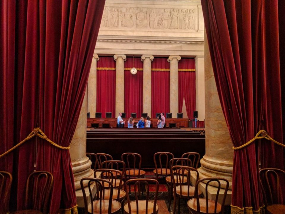 US Supreme Courtroom