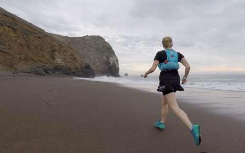 Tennessee Valley Beach Trail Run, Marin California