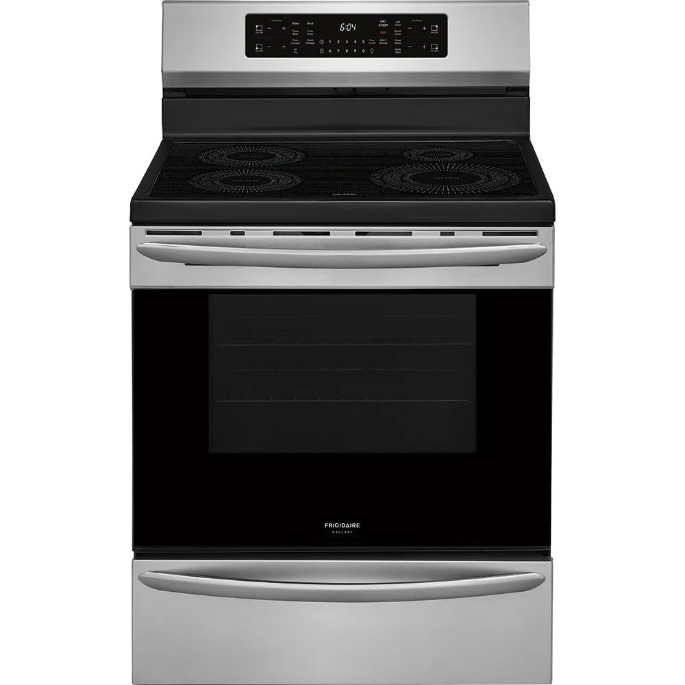 frigidaire gallery 30 inch single oven induction range open box