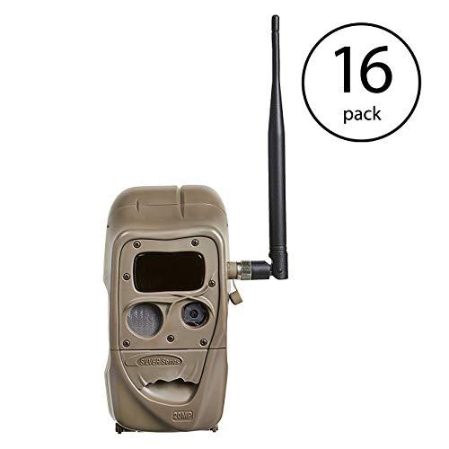Cuddeback 4 Black Flash CuddeLink 20MP Wireless Invisible IR Game Trail Camera (4 Pack)