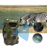 BESPORTBLE Trail Camera with Night Vision Motion Activated for Outdoor Wildlife Monitoring Waterproof