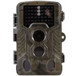MOCRUX H881 Trail Hunting Camera 12MP 1080P HD Game Camera with 130° Wide Angle Lens 20m Night Vision 46 pcs Infrared light with 2.4″ LCD Display 0.2s Trigger Time Motion Activated IP56 Waterproof Pro