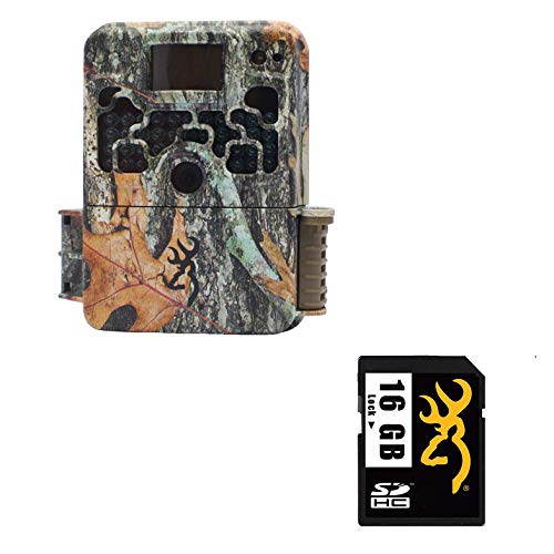 rowning Trail Cameras Strike Force Gen 5 22-Megapixel Game Camera with Video, Camo + 1 Class 6 16GB Memory SD Card