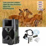 Godyluck- HC350M HC300M HC550M Hunting Trail Camera 16MP 0.5s Trigger Photo Trap 1080P Video Night Vision MMS GPRS Infrared Hunter Cam