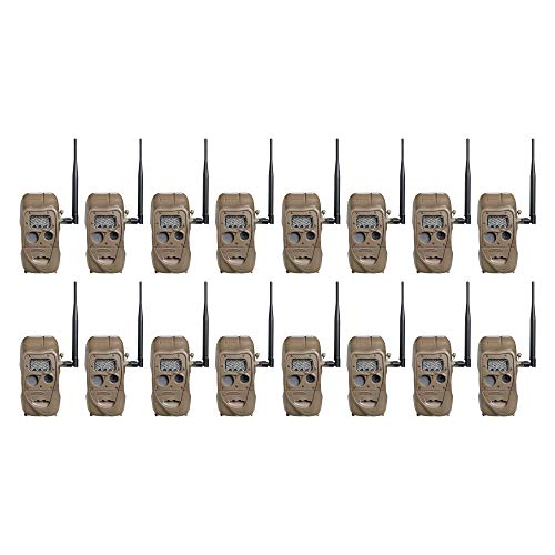 Cuddeback CuddeLink 20MP Long Range Wireless Hunting Game Trail Camera (4 Pack) (4 Pack)
