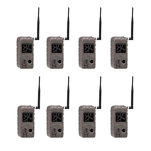 Cuddeback CuddeLink Cap Wireless Dual Flash Game Trail Cameras Remote Network (8 Pack) Dual Flash Cuddelink Invisible Infrared Scouting Game Trail Camera (8 Pack)