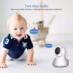 Home Security IP Camera Wi-Fi 1080P 720P Wireless Network Camera CCTV Camera Surveillance P2P Night Vision Baby Monitor (Plug Type : EU Plug, Sensor Size : 720P Add 32G Card)
