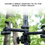 Snyper Hunting Trail Camera Mount for Game Monitoring.Trail Camera Holder with Adjustable Options. ¼ – 20 Threaded Insert for Versatile Trail Cam Mount (Add a Cam)