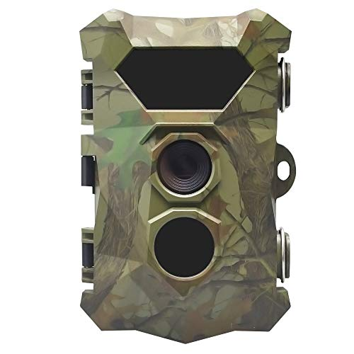 58bh Trail Camera, Trail Game Camera, HD 1080P Waterproof Hunting Scouting Cam for Wildlife Monitoring with Night Vision