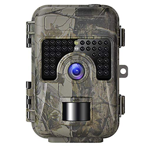 Shumo Game Trail Camera with Night Vision Motion Activated 1080P 16MP Cam Hunting Trap Cameras with No Glow IR and Upgraded Waterproof IP66