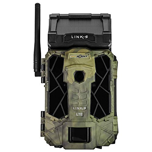 SPYPOINT LINK-S 12MP Solar 4G LTE Cellular HD Video Hunting Game Trail Camera (12 Pack)